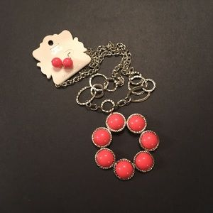 Jewelry - Hot pink necklace